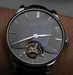 H. Moser and Cie. Venturer Dual Time Tourbillon Watches (Including Sapphire Skeleton) Hands-On