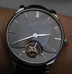 H. Moser and Cie. Venturer Dual Time Tourbillon Watch