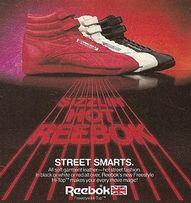 Reebok Hightops  Had Red, White and Black
