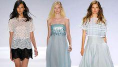 Tadashi Shoji Spring/Summer 2014 RTW – New York Fashion Week - Fashion Trends, Makeup Tutorials, Hairstyles and Style Secrets