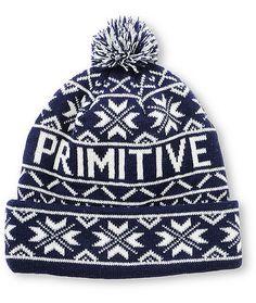 Primitive from pom beanie