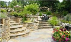 Landscaping Around Raised Garden Bed #landscapinglife