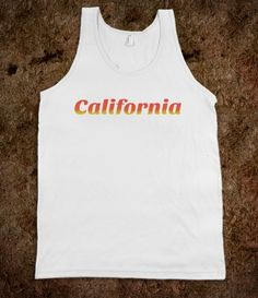 #california #socal #norcal #sunshine #westcoast #americanapparel #tshirt #shirt #tanktop #skreened