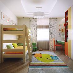 Детская наполнена разными цветовыми пятнами на белом фоне. Т.к. детей двое, а комната небольшая , необходимо было наполнить детскую воздухом и светом, в то же время не потерять уют. #детская_iD #interideg #interiordesign #designstudio#houseidea #homedecor #interiordecor#homedesign #интерьер #интерьеры #дизайнинтерьера#дизайн_интерьера #дизайнинтерьеров#дизайнеринтерьера #дизайн#архитектура #интерьеры #ремонт#дизайнпроект #дизайнквартиры #дизайнстудия#дизайнстудиямосква #дизайнбюро…