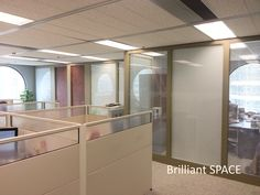 Glass System Wall 怡和大廈 (厚框雙層清玻璃屏風-內置百葉 Double Clear Glass Panel with blind) 3