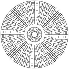 geometric circle coloring page free shapes coloring coloring pages