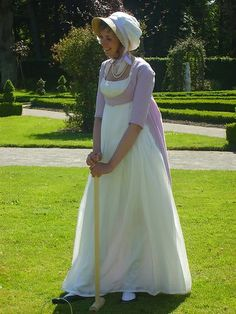 Regency dress by Wel-mode, via Flickr