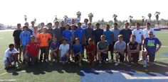 Dana Hills High School summer football camp for incoming freshmen. The boys and coaches are all looking good! Go Dolphins! I'll be posting season updates on Twitter :-) #DHHS #football
