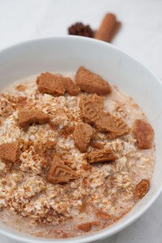 Hottest Cost-Free Creamy Spekulatius Overnight Oats - Cooking Carousel Tips Healthy Smoothie Menu Everybody loves an excellent smoothie , but not everyone actually thinks abou Smoothie Recipes, Smoothies, Carrousel, Health Desserts, Food Items, Fruits And Veggies, Oatmeal, Tasty, Baking