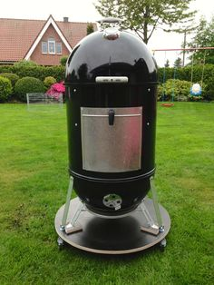 Pimp my Weber Smokey Mountain Cooker Teil 1 und 2 Weber Grill, Bbq Grill, Grilling, Barbecue, Weber Charcoal Grill Accessories, Weber Smokey Mountain Cooker, Best Electric Smoker, Charcoal Smoker, Pimp