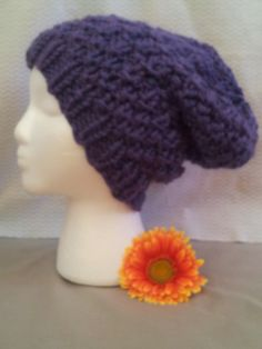 color: purple style: slouchy size: adult