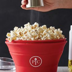 Shop The Pampered Chef Microwave Popcorn Maker and other top kitchen products. Explore new recipes, get cooking ideas, and discover the chef in you today! Pampered Chef Popcorn Maker, Pampered Chef Recipes, Gourmet Recipes, Appetizer Recipes, Snack Recipes, Easy Recipes, Appetizers, Free Recipes, Homemade Microwave Popcorn