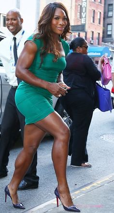 A picture of Serena Williams. This site is a community effort to recognize the hard work of female athletes, fitness models, and bodybuilders. Serena Williams News, Serena Williams Tennis, Venus And Serena Williams, Femmes Les Plus Sexy, West Palm Beach, Beautiful Black Women, Beautiful Body, Athletic Women, Female Athletes