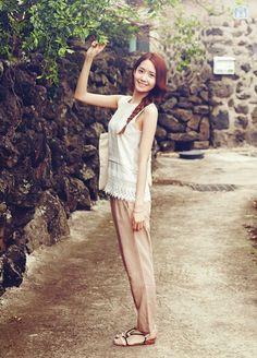 少女時代ユナ 「Innisfree」最新CFで魅せる天使の微笑み