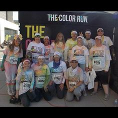 Team Balluff after the Color Run 5k in Cincinnati!