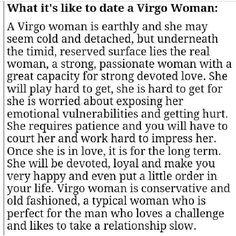 Virgo woman profile