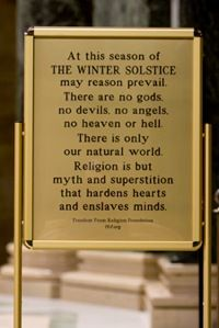 Celebrate Winter Solstice! ( Religion is so different than spirituality.)