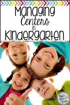 How to Manage Centers in Kindergarten Kindergarten Center Rotation, Kindergarten Readiness, Kindergarten Centers, Literacy Skills, Kindergarten Classroom, Literacy Centers, Teacher Blogs, Teacher Hacks, Teacher Resources