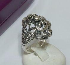 Faszinierender+Antik+Jugendstil+Ring+800+SR251+von+Atelier+Regina++auf+DaWanda.com