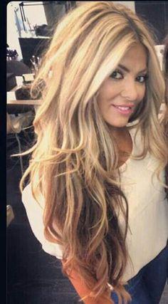 hair color | inspiration | wavy hair | beautiful hair | balayage rubin-extensions.de