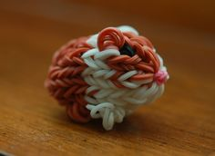 Rainbow loom guinea pig made by my daughter.  Soooo cute!  :)