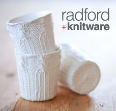 #knit cups on #Etsy