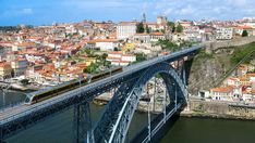 Elevated view of Porto, Portugal Portugal, Douro, Port Wine, Terrace Garden, Sydney Harbour Bridge, The Neighbourhood, Cruise, Places To Visit, Harry Potter