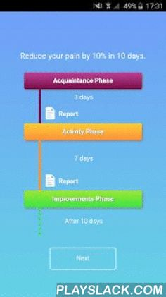 """PainCompanion - Fibromyalgia  Android App - playslack.com ,  Follow our scientific approach to find your personalized activities helping you to reduce your pain.Over the past few weeks over 90% of our users could reduce their pain by at least 10% within 10 days!""""I felt so all alone and isolated with my pain and this app has brought me together with so many wonderful people who show me on a daily basis that I am not alone and never will be.""""PainCompanion provides:- proven activities helping…"""