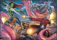 GUARDIANS OF THE GALAXY by tony-tzanoukakis.deviantart.com on @DeviantArt