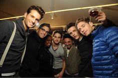 simon nessman and friends :) Simon Nessman, Winter Jackets, Friends, Winter Coats, Amigos, Boyfriends, True Friends