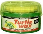 Use Car Wax as Sink Polish | You can polish faucets, sinks, tile and even your shower doors with Turtle Wax.  The wax leaves behind  a protective barrier  stopping the water and soap buildup that happens from our daily use.
