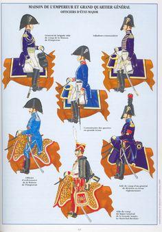 Ufficiali di stato maggiore della casa dell'imperatore e dello stato maggiore