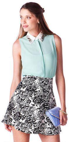 #Francesca`s              #Skirt                    #Newbury #Floral #Skirt   Newbury Floral Skirt                                http://www.seapai.com/product.aspx?PID=1887938