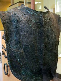 Etruscan Breastplate 8th century BCE Photographed at the University of Pennsylvania Museum of Archaeology and Anthropology.