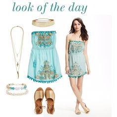 look of the day by calypsostbarth on Polyvore