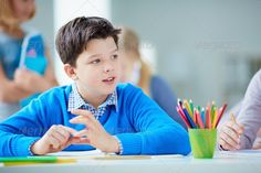 Schoolboy at lesson ...  Learner, academic, back, background, boy, calm, caucasian, child, childhood, classroom, clever, contemporary, crayon, cute, diligent, education, elementary, foreground, girl, grade, handsome, human, idea, inspiration, junior, kid, lad, learn, lesson, lifestyle, little, pencil, pensive, people, person, positive, preschooler, primary, pupil, school, schoolboy, schoolchildren, schoolkid, serene, student, study, thoughtful, white, youngster, youth