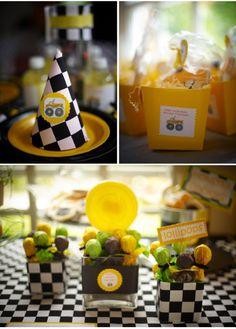 Monster Truck Birthday Party