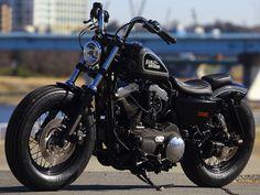 Hide Motorcycles | Sportster Harley 48 sportster