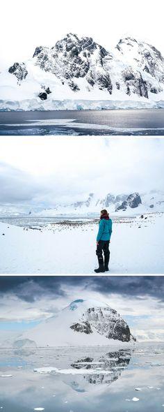 Ein unfassbarer Tag! Der schönste Tag in meinem Leben! #antarktis #eisberge #schnee #pinguine