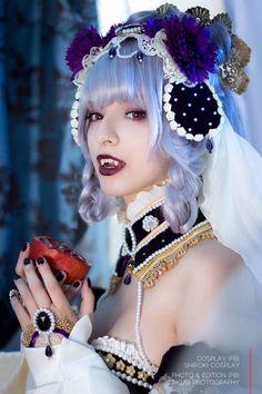 Vampire Julietta Sakizo V by Shirokii on DeviantArt Vampire Love, Female Vampire, Vampire Art, Vampire Fangs, Zombies, Monster Vampire, Female Monster, Vampire Pictures, Beautiful Fantasy Art