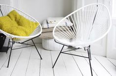 Acupulco Chair via Bodie and Fou Interior Blogs, Best Interior, Interior Inspiration, Acapulco Chair, Love Design, Design Design, Sofa Chair, Decoration, Sweet Home