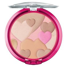 Physicians Formula Happy Booster Glow & Mood Boosting Powder layers hearts on hearts for a healthy, luminous complexion. | 29 Beauty Products That Are Almost Too Pretty To Use
