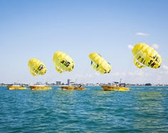 Siesta Key Watersports, Parasailing adventures & a perfect safety record for more than 23 years!