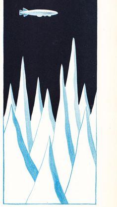 Ilustraciones de Antonio Aguirre  en 'El libro del aire' Autor: Antonio Espina El Globo de Colores Libros para saber AGUILAR 1957