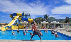 Join us every morning for Aquagym