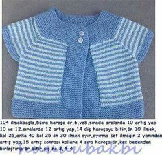 stricken-baby-weste-anlatimli-orgu-stricken-baby-weste-array-knit-baby-b/ - The world's most private search engine Sweater Set, Sweater Design, Vest Outfits, Kids Outfits, Crochet For Kids, Crochet Baby, Free Knitting, Baby Knitting, Baby Fur Vest