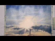 Miami sky watercolor, 4th day - YouTube