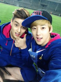 ELI & KEVIN my two biases from U-Kiss!! <3