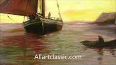 Slikovni rezultat za oil painting boat tutorial
