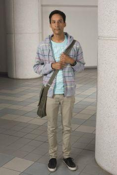 Abed Nadir played by Danny Pudi
